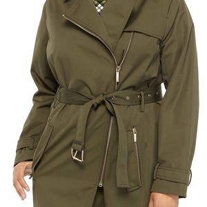 Michael Kors plus  trench coat